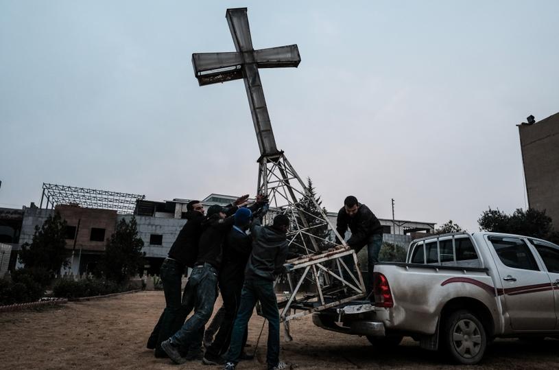 Erbil (Irak), 23 grudnia 2016 r. /Maciej Moskwa/ Testigo Documentary /