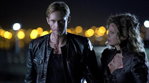 Eric (Alexander Skarsgard) i Pam De Beaufort (Kristin Bauer van Straten) tworzą parę równie przerażającą, co seksowną. /John P. Johnson /HBO