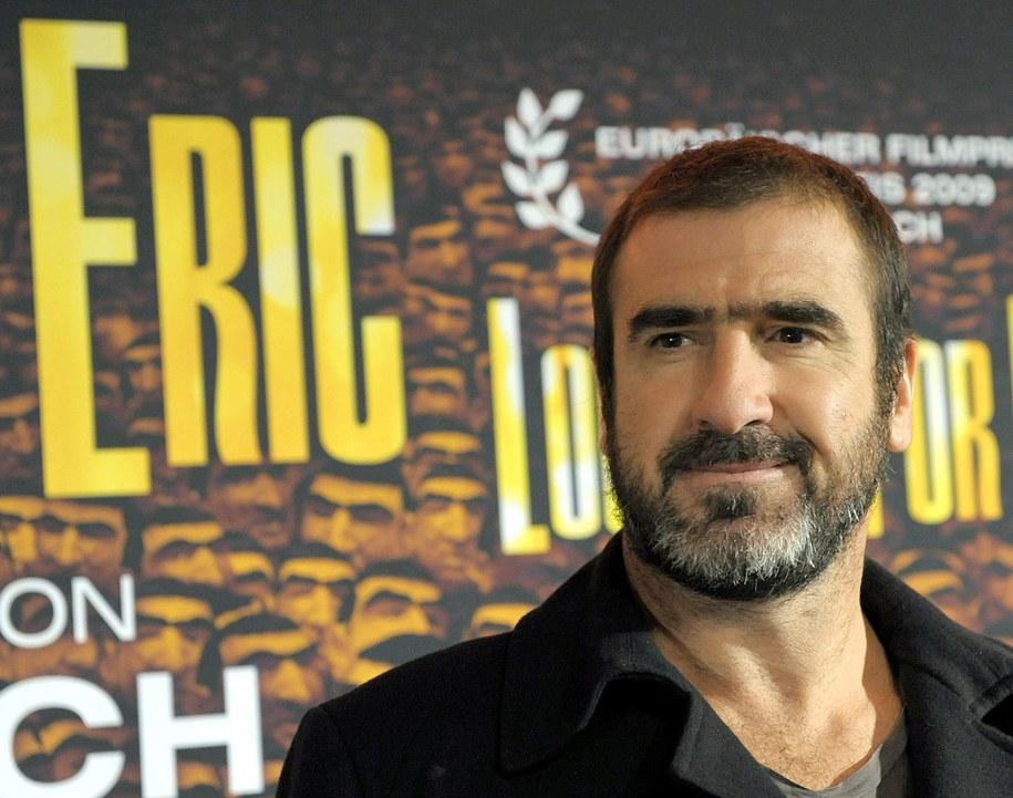 Eric Cantona były piłkarz i aktor /Soeren Stache    /PAP/EPA
