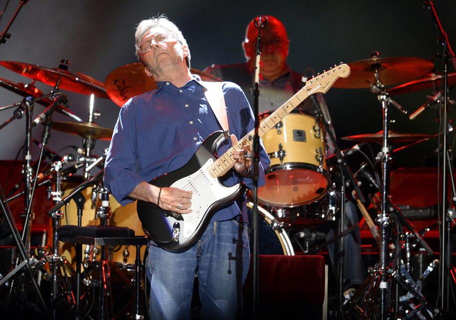 Eric Clapton /HANS KLAUS TECHT    /PAP/EPA