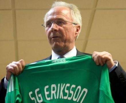 Eriksson ostatnio prowadził reprezentację Meksyku /AFP