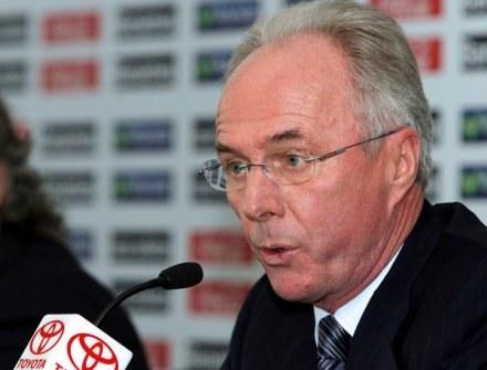 Eriksson zamierza zbudować klub od podstaw /AFP