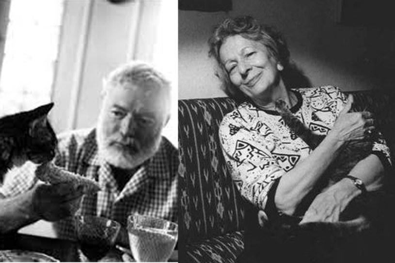 Ernest Hemingway, Wisława Szymborska /materiały prasowe