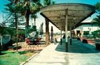 Ernest Malinowski, Arica - stacja początkowa budowanej przez niego kolei do La Paz /Encyklopedia Internautica