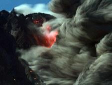 Erupcja wulkanu Sinabung