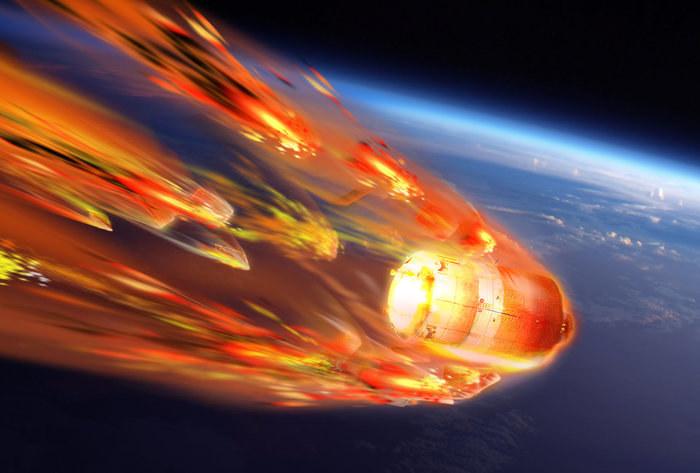ESA podejrzy co dzieje się ze statkiem kosmicznym podczas spalania w ziemskiej atmosferze /materiały prasowe