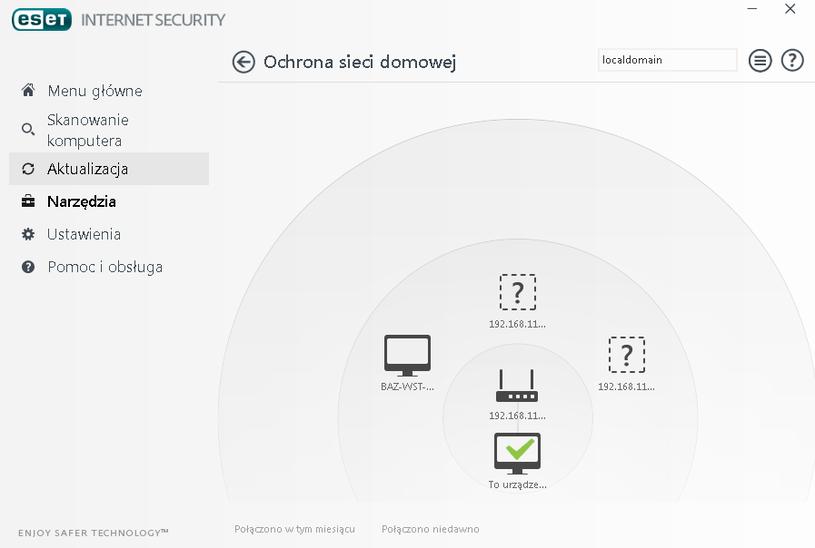 ESET Internet Security  - ochrona sieci domowej /INTERIA.PL