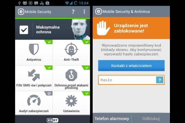 ESET Mobile Security /materiały prasowe