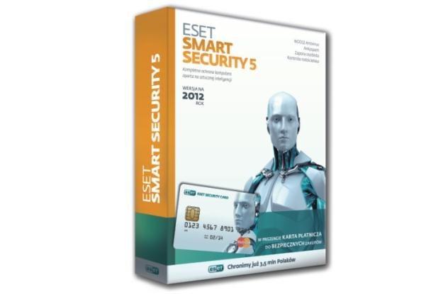 ESET Smart Security 5  ze specjalną kartą prepaid MasterCard /materiały prasowe