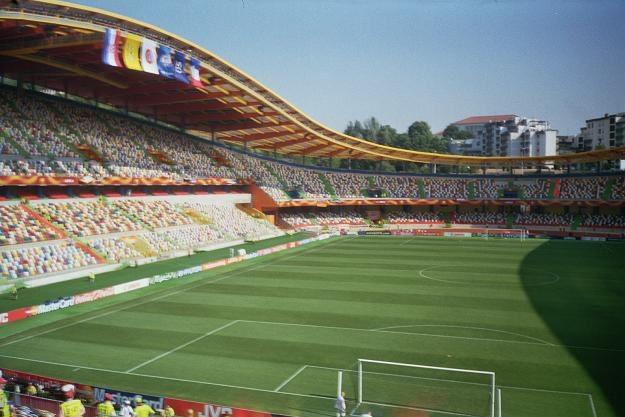 Estadio Magalhaes Pessoa w Leirii prezentuje się bardzo okazale /AFP