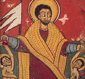 Etiopski wizerunek Jezusa /Archiwum