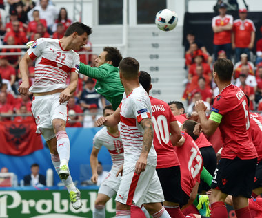 Euro 2016. Mecz Albania - Szwajcaria 0-1