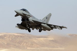 Eurofighter Typhoon dostanie pociski Storm Shadow
