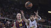 Euroliga koszykarzy - porażka Barcelony z Olympiakosem w 1/4 finału