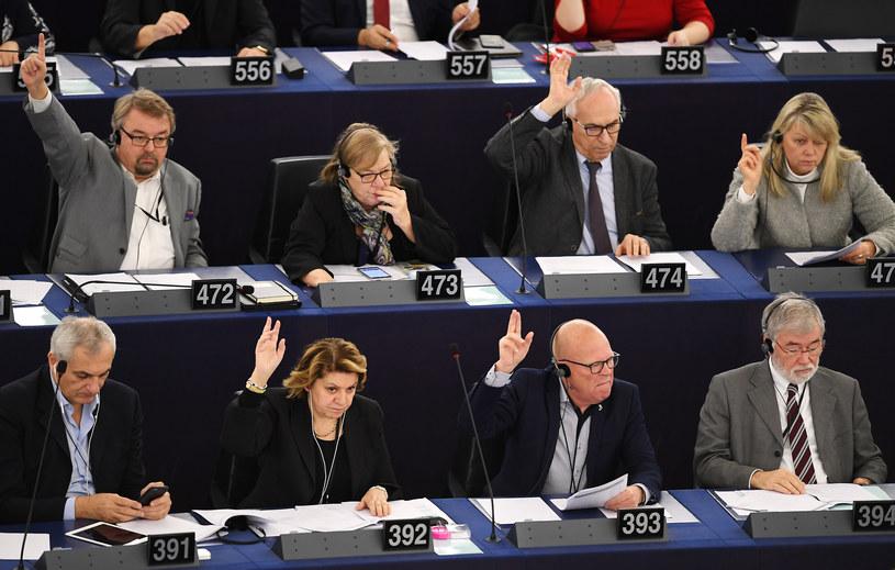 Europarlamentarzyści /AFP