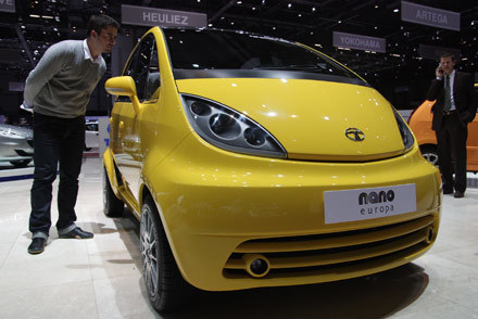 Europejska wersja taty nano /INTERIA.PL