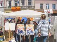 Europejski festyn przed unijnym prareferendum w Głuchołazach /RMF