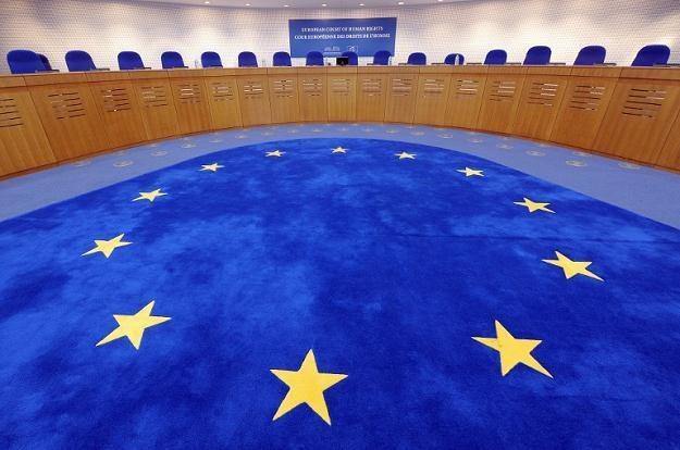 Europejski Trybunał Praw Człowieka /AFP