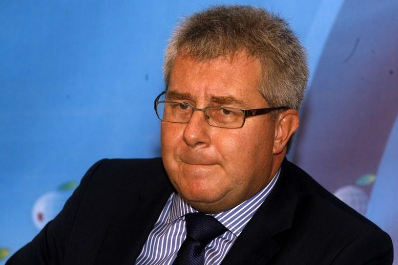Europoseł Ryszard Czarnecki. /Artur Barbarowski /East News