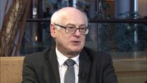 Europoseł Zdzisław Krasnodębski rozmawia z Agnieszką Waś-Turecką
