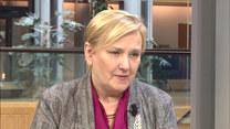 Europosłanka Róża Thun rozmawia z Agnieszką Waś-Turecką