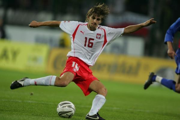 Euzebiusz Smolarek w meczu z Ekwadorem spróbuje swoich sił w ataku. Fot. Maciej Śmiarowski /Agencja Przegląd Sportowy
