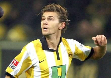 Euzebiusz Smolarek zdobył wyrównującą bramkę dla ekipy z Dortmundu /AFP