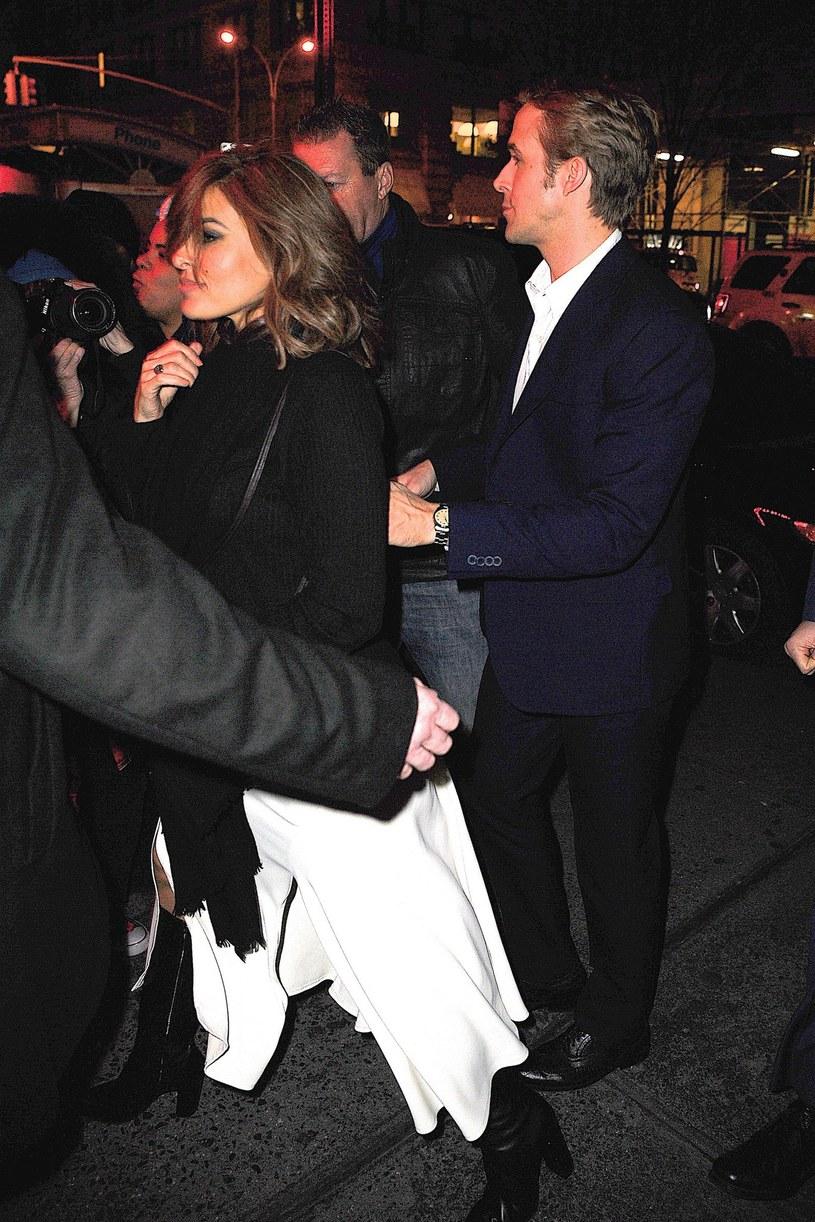 Eva Mendes i Ryan Gosling /Splash News /East News