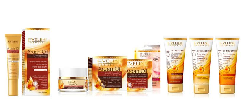 Eveline Cosmetics: Seria Argan Oil /materiały promocyjne