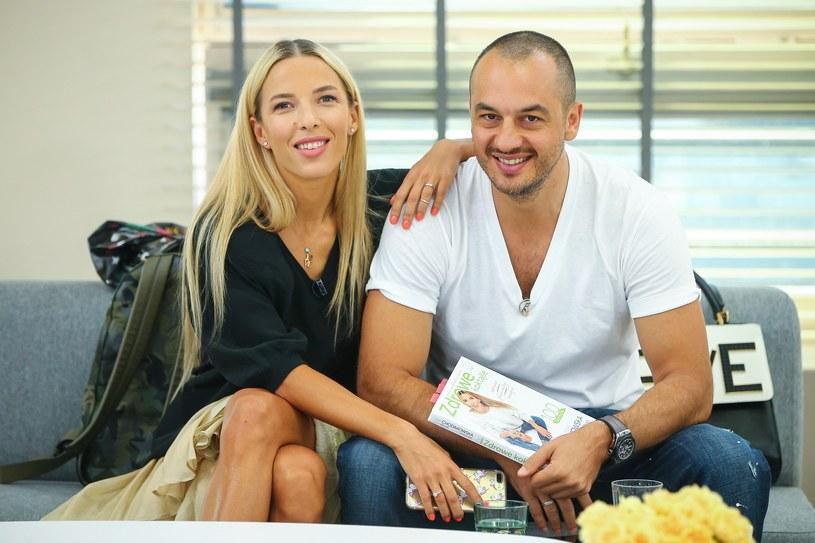 Ewa Chodakowska i Lefteris Kavoukis /East News