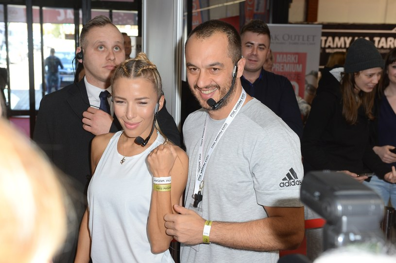 Ewa Chodakowska z mężem /East News