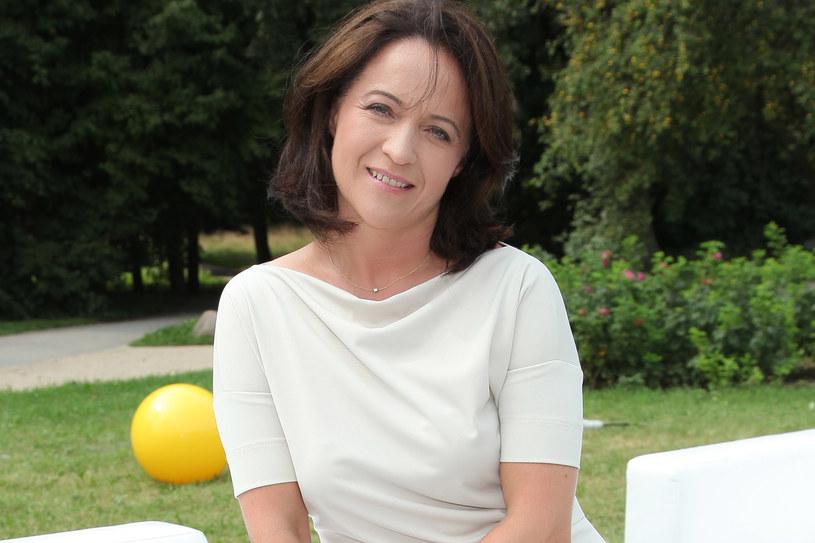 """Ewa Drzyzga poprowadziła już ponad dwa i pół tysiąca odcinków """"Rozmów w toku"""" /fot. Paweł Wrzecion /MWMedia"""