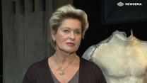 """Ewa Kasprzyk jako Martha w kultowym spektaklu """"Kto się boi Virginii Woolf?"""""""