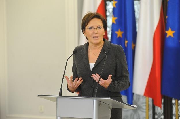 Ewa Kopacz, fot. Tomasz Urbanek /East News