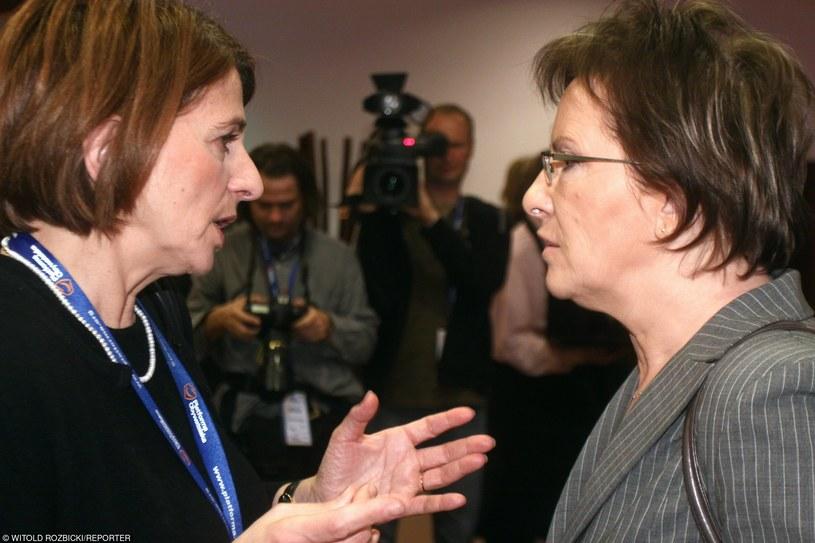 Ewa Kopacz i Julia Pitera /Witold Rozbicki/REPORTER /East News