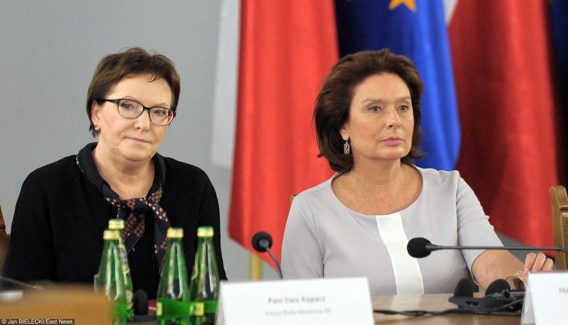Ewa Kopacz i Małgorzata Kidawa- Błońska /Jan Bielecki /East News