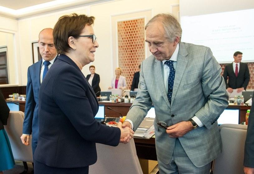 Ewa Kopacz, Marian Zembala /Bartosz Krupa /East News