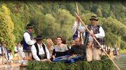 Ewa Kopacz spłynęła Dunajcem