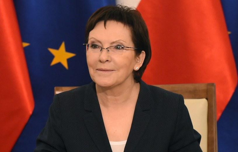 Ewa Kopacz wygłosi expose 1 października /Radek Pietruszka /PAP