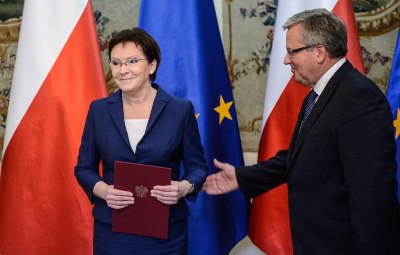 Ewa Kopacz została desygnowana na premiera /Bartłomiej  Zborowski /PAP