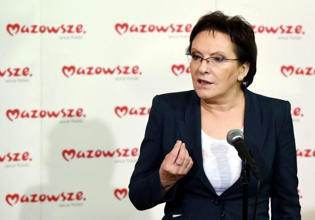 Ewa Kopacz /PAP/Radek Pietruszka    /PAP