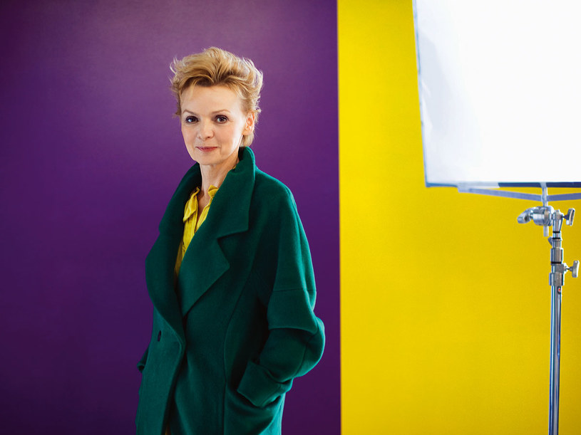 Ewa Wencel jest ciekawa każdego dnia  /Krzysztof Kozanowski /Pani