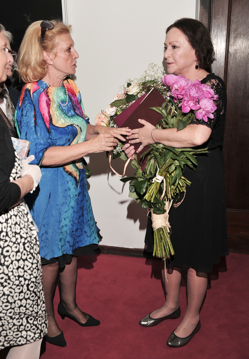 Ewa Wiśniewska i Małgorzata Niemirska /Euzebiusz Niemiec /AKPA