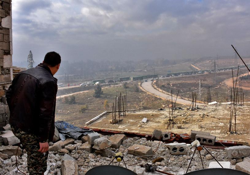 Ewakuacja Aleppo /GEORGE OURFALIAN  /AFP