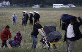 Ewakuacja obozu uchodźców