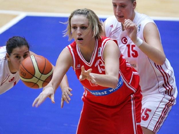 Ewelina Kobryn zdobyła dla Polski 12 punktów /AFP