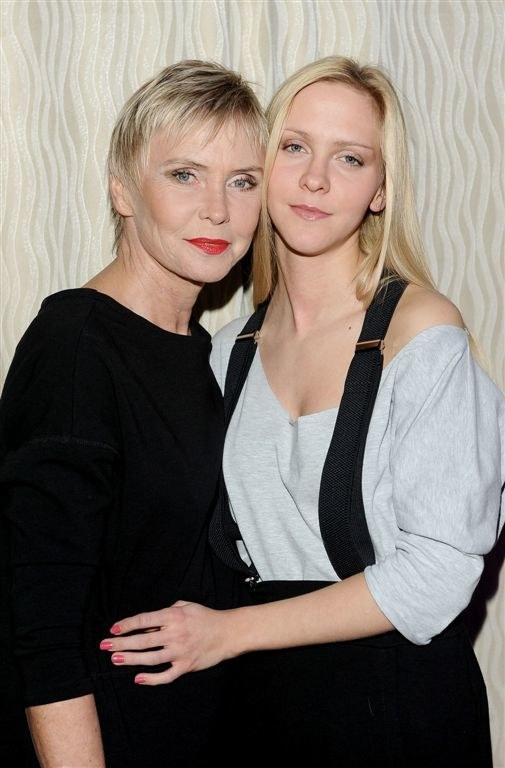 Ewy Błaszczyk i jej córka Marianna Janczarska /Agencja W. Impact