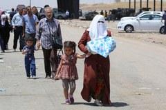 Exodus mieszkańców Mosulu