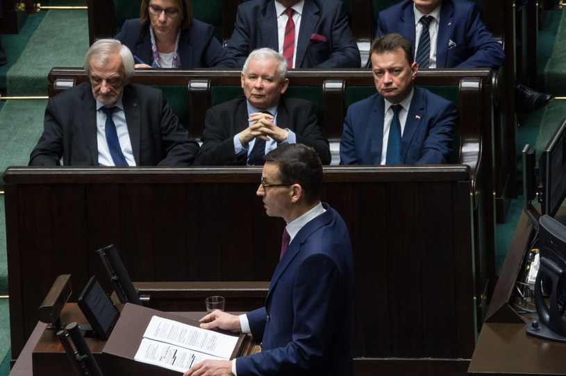 Expose Mateusza Morawieckiego /Jacek Domiński /Reporter