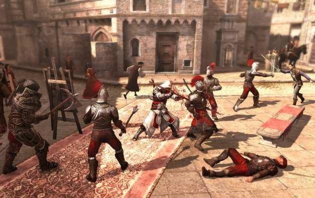 Ezio już wkrótce rozpocznie krwawe rządy na platformie PC /Informacja prasowa